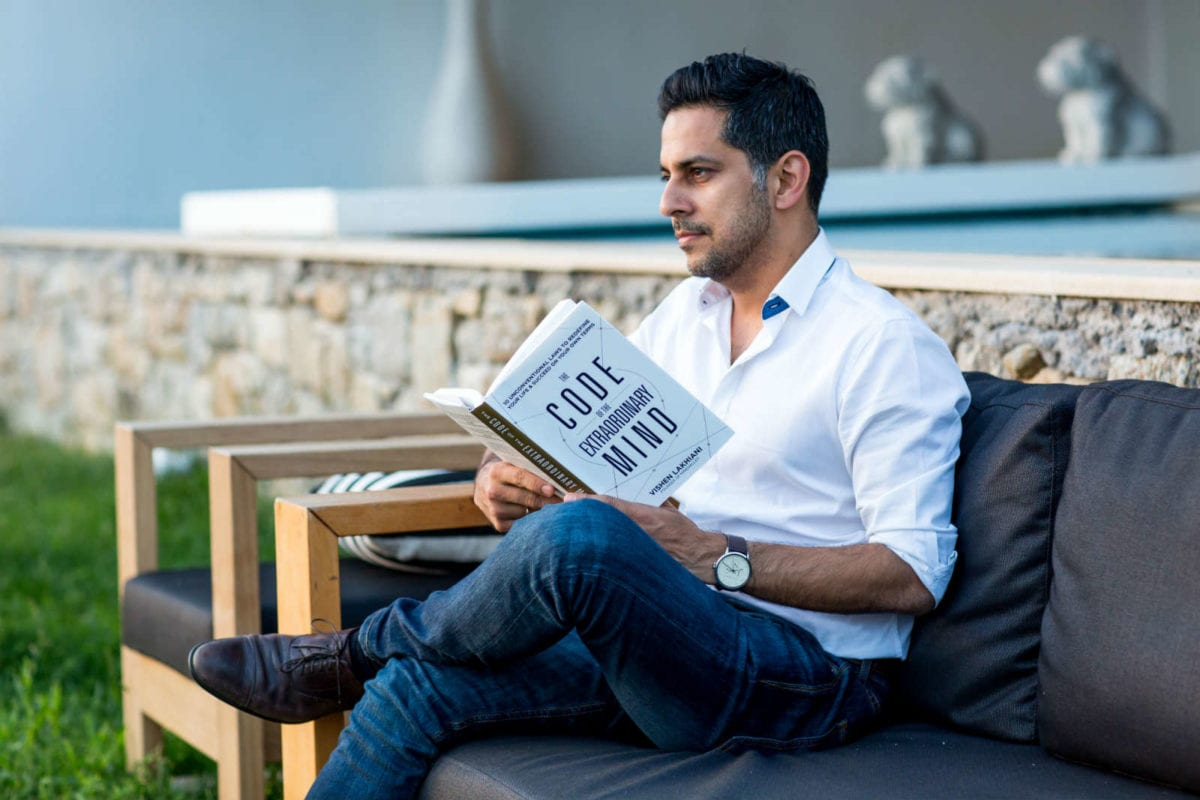 Vishen Lakhiani Code of the Extraordinary Mind Brules holding you back