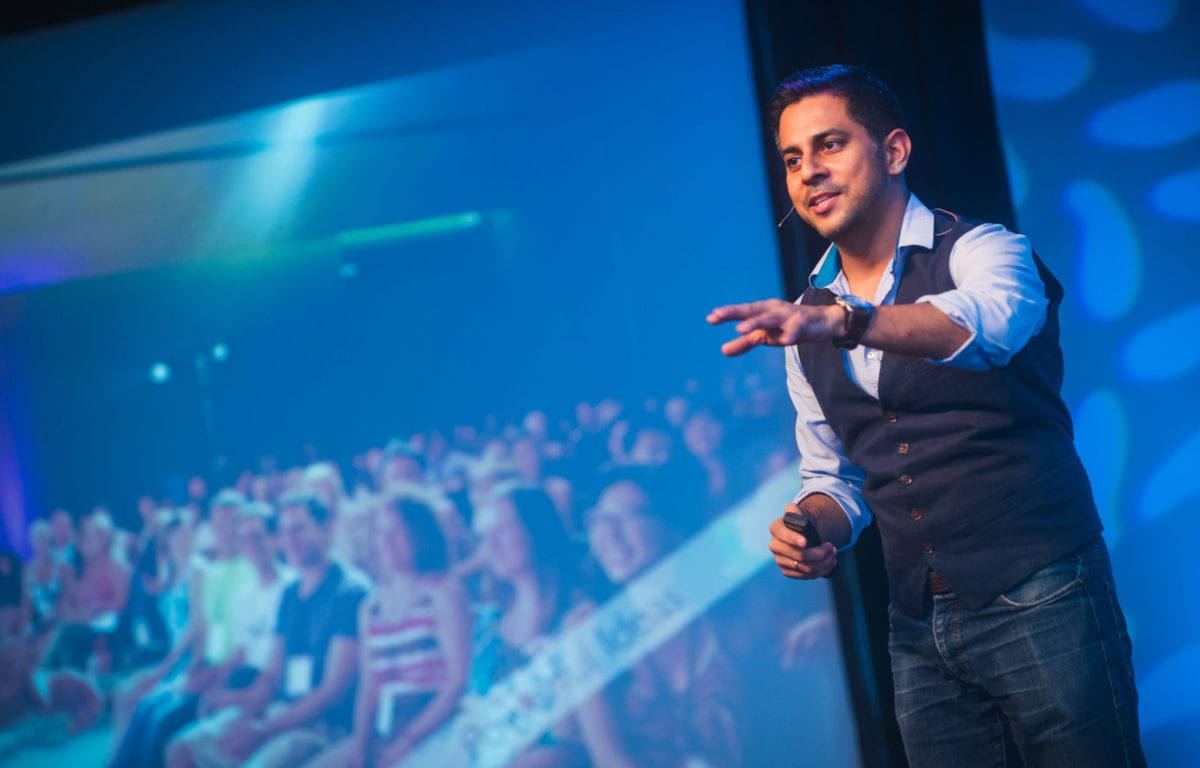 Vishen Lakhiani A-Fest Rewrite the rules of success