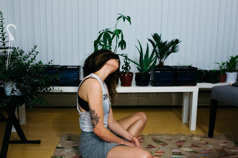 anywhere, anytime yoga relief