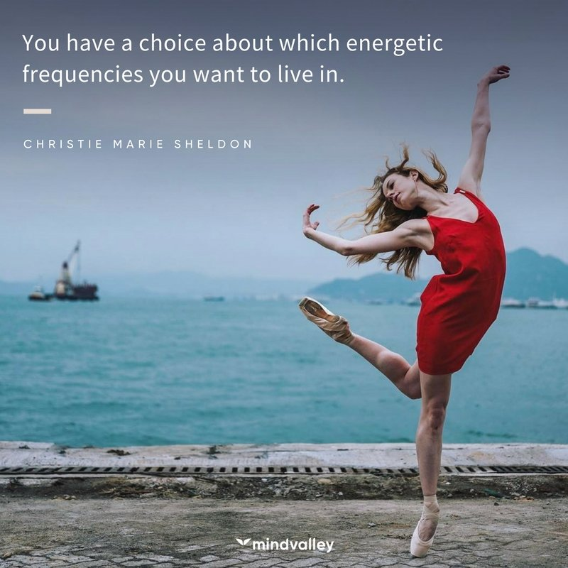 Christie Marie Sheldon quote - you have choice