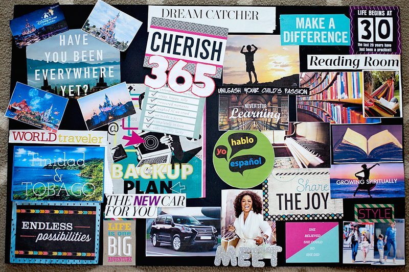 Classroom Wall Decoration Set ~ Vision board — a powerful tool to manifest your life desires