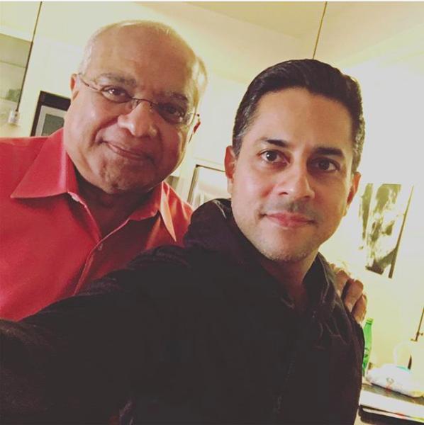 Srikumar Rao with Vishen Lakhiani