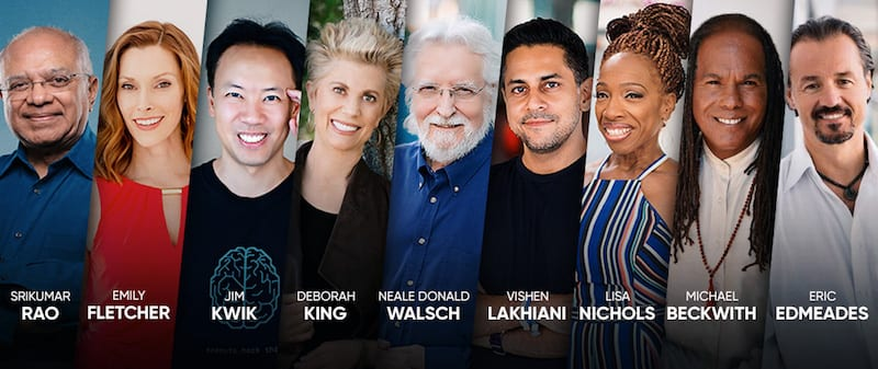 Mindvalley Reunion 2018 speakers