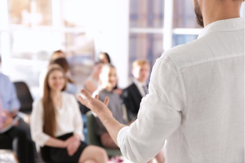 overcome fear of public speaking