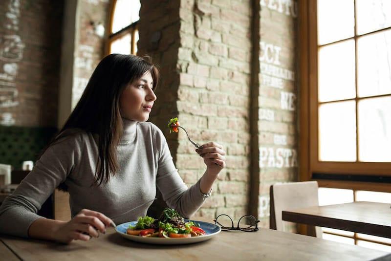 transform body women salad