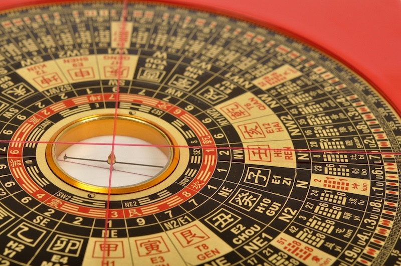 How to use a feng shui compass
