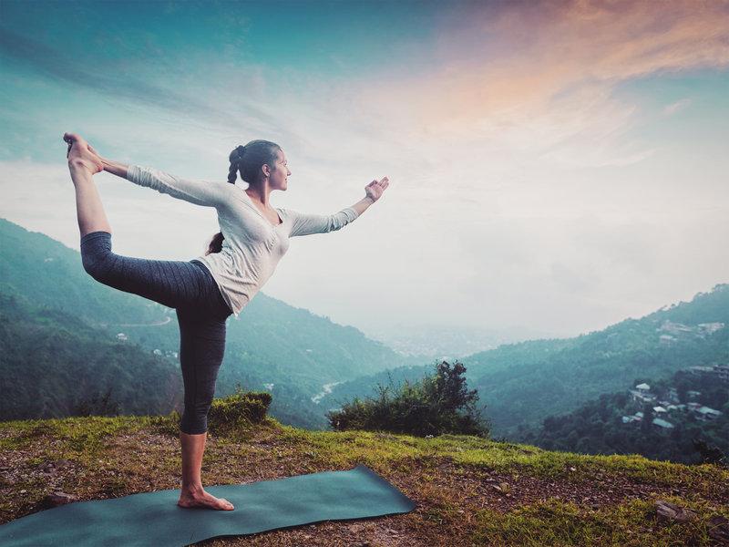 What are yoga mudras?