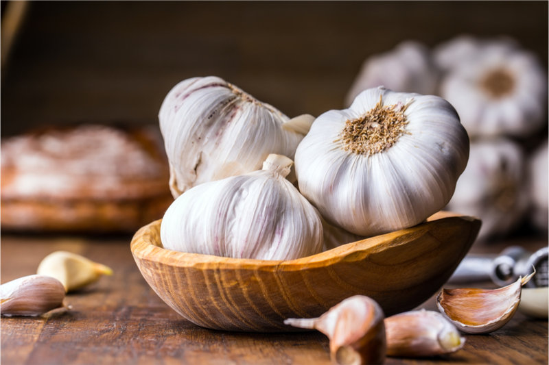Foods That Increase Blood Flow garlic