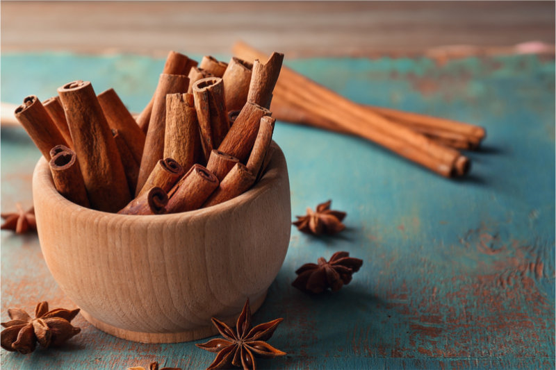 Foods That Increase Blood Flow cinnamon