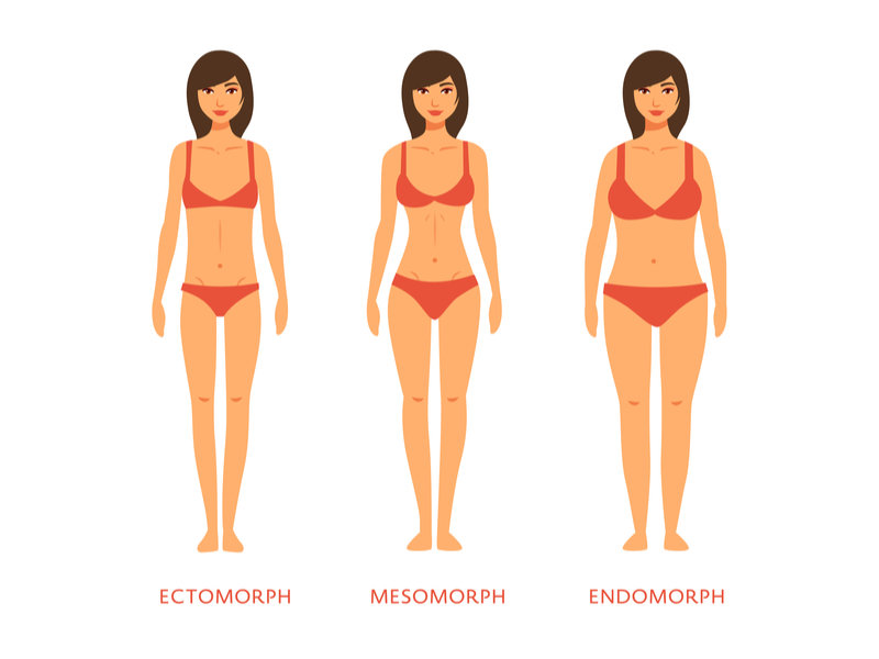 Mesomorph Female Body – Destined For Athletic Excellence