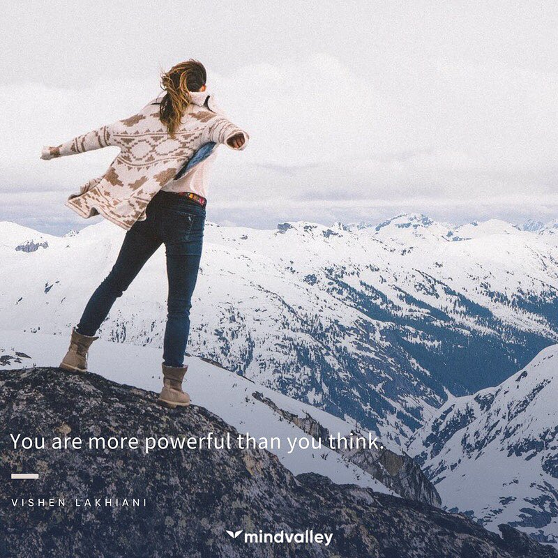 You are more powerful than you think.