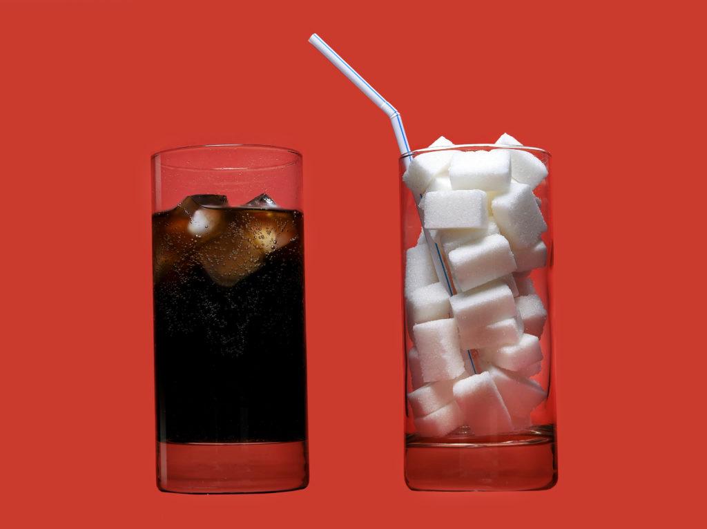 coca cola and sugar comparison