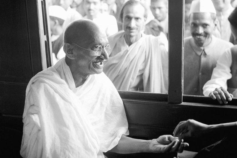 Gandhi inspiring leader