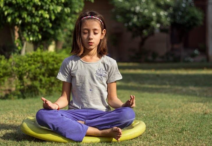 Mindfulness meditation kid