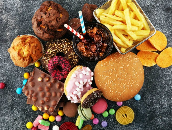 The Bottom Line Of Unhealthy Food