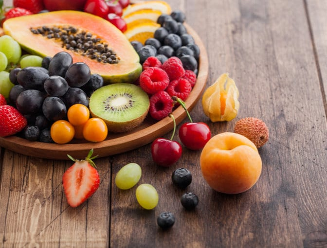 Protein-rich fruits and vegetables