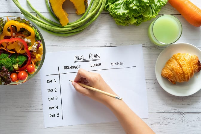 Healthy foods list