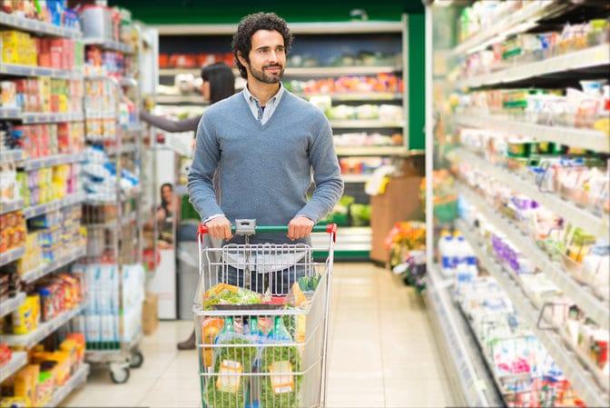 buying prepackaged food