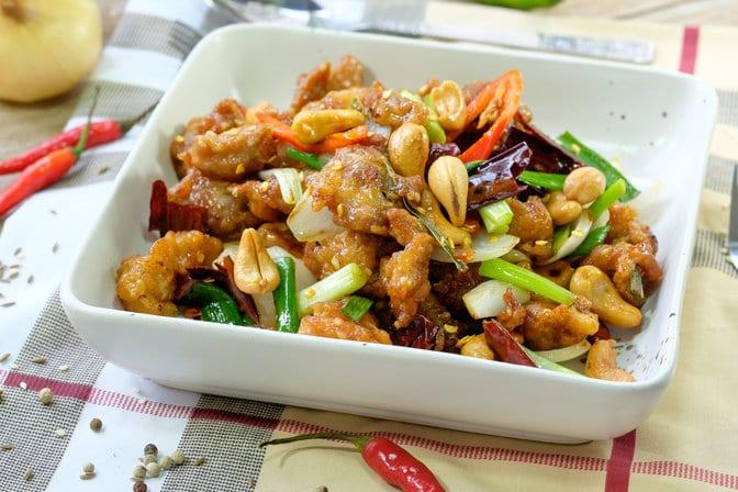 Chicken & blended brassica