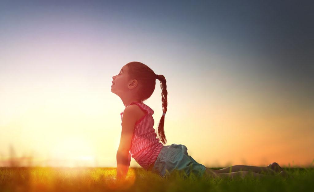 fun yoga poses for kids