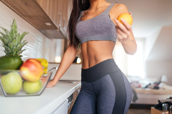 How can you get a flat stomach in a month?