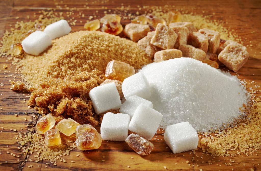 different sugar types